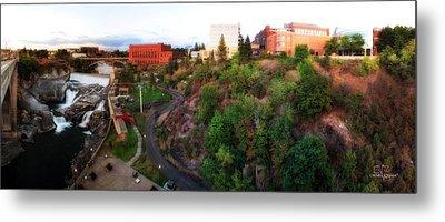 Spokane Falls Metal Print by Dan Quam