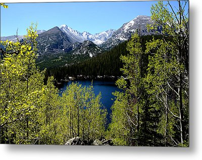 Spring At Bear Lake Metal Print by Tranquil Light  Photography