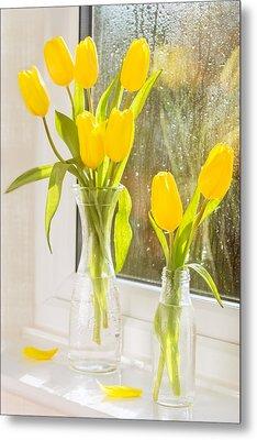 Spring Tulips Metal Print by Amanda Elwell