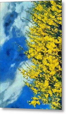 Metal Print featuring the photograph Spring Wild Flowers by George Atsametakis