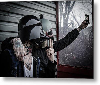 Star Wars Metal Print by Marino Flovent