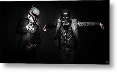 Starwars Suitup Metal Print