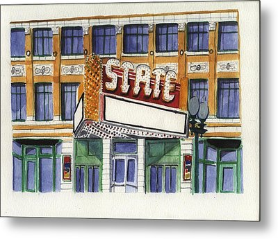 State Theater Metal Print by Rodger Ellingson