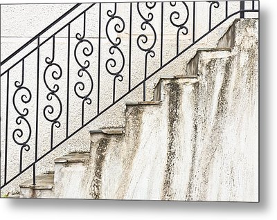 Steps Metal Print by Tom Gowanlock