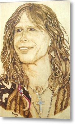 Steven Tyler Metal Print