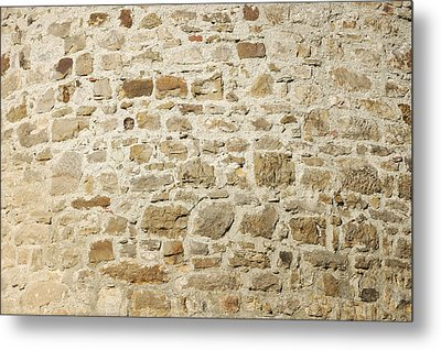 Stone Wall Metal Print by Matthias Hauser