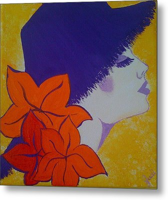 Metal Print featuring the painting Summer Beauty by Judi Goodwin