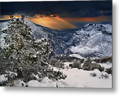 Sun Rays Metal Print by Guido Montanes Castillo