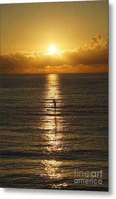 Metal Print featuring the photograph Sunrise In Florida Riviera by Rafael Salazar