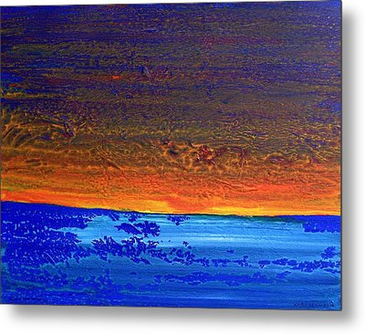 Sunset 2012 Metal Print