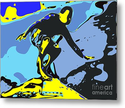 Surfer Metal Print by Chris Butler