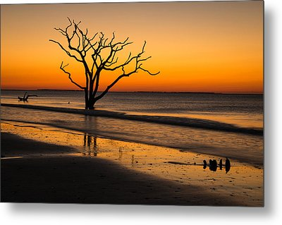 Surreal Sunrise Metal Print by Serge Skiba