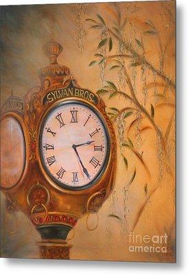 Sylvan's Clock Metal Print