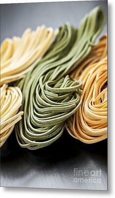 Tagliolini Pasta Metal Print
