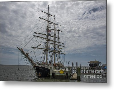 Metal Print featuring the photograph Tall Ship Gunilla by Dale Powell