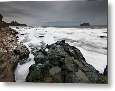 Tantallon Castle Metal Print by Keith Thorburn LRPS