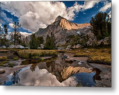 Tarn Reflection Metal Print