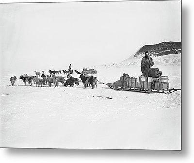 Terra Nova Antarctic Exploration Metal Print by Scott Polar Research Institute