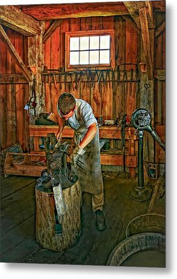 The Apprentice 2 Metal Print by Steve Harrington