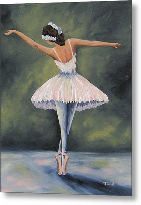 The Ballerina Iv Metal Print by Torrie Smiley