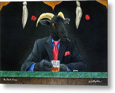 The Black Sheep... Metal Print by Will Bullas