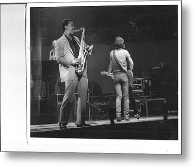 The Boss And Clarence Metal Print by Bc Adamkowski