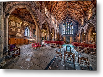 The Cathedral Metal Print by Adrian Evans