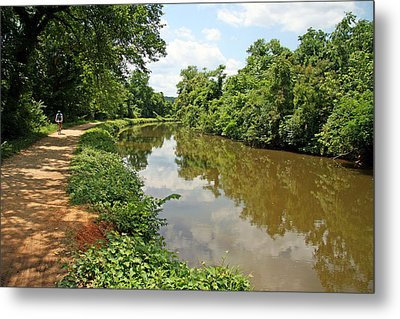 The Chesapeake And Ohio Canal Metal Print by Cora Wandel
