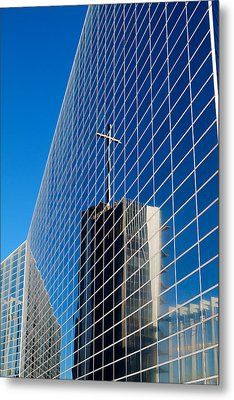 Metal Print featuring the photograph The Crystal Cathedral by Duncan Selby