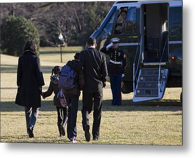 The First Family Metal Print by JP Tripp