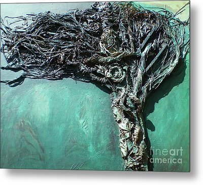 The Greenman Metal Print