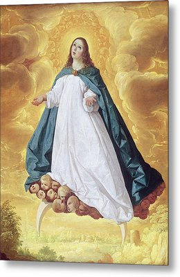 The Immaculate Conception Metal Print by Francisco de Zurbaran