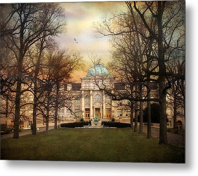 The Library Metal Print by Jessica Jenney