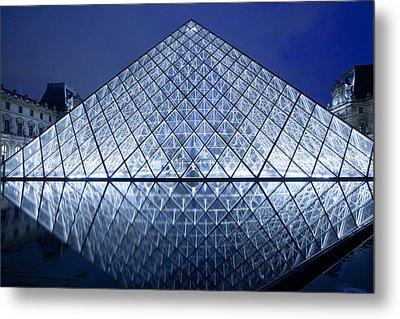 The Louvre Paris Metal Print
