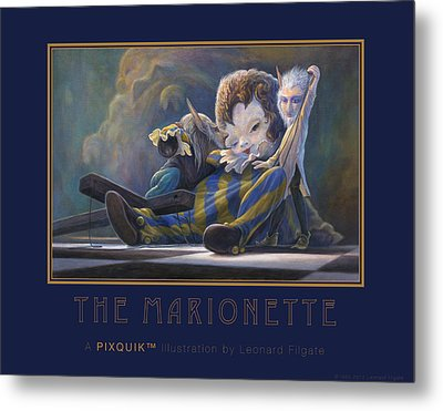 The Marionette Metal Print