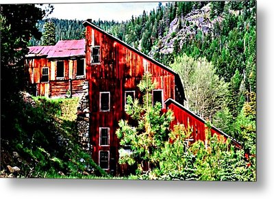 The Old E And E Metal Print by Lynne and Don Wright