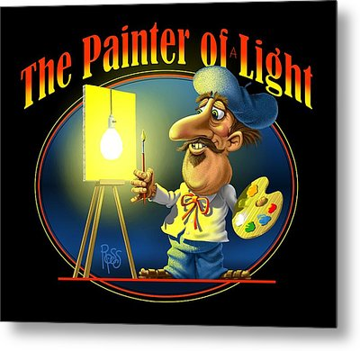 The Painter Of Light Metal Print