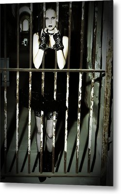 The Prisoner Metal Print