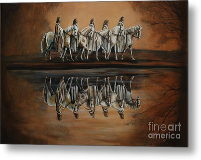 The Quest Metal Print by Nancy Bradley