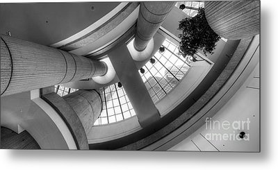 The Renaissance Center Metal Print by Twenty Two North Photography