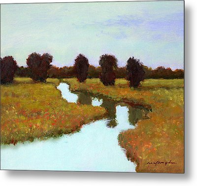 The River Takes You Home Metal Print by J Reifsnyder
