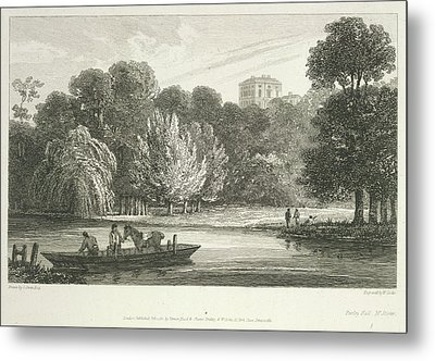 The River Thames Metal Print by British Library