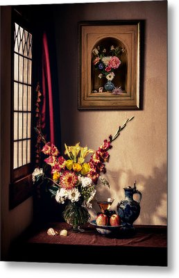 Metal Print featuring the photograph The Van Der Ast Are Visiting by Levin Rodriguez