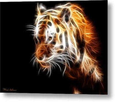 Tiger  Metal Print by Mark Ashkenazi