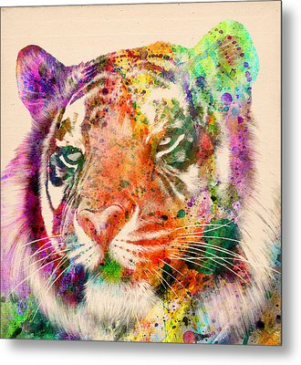 Tiger Portrait  Metal Print