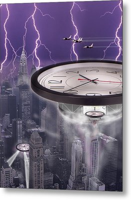 Time Travelers 2 Metal Print by Mike McGlothlen