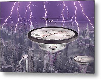 Time Travelers Metal Print by Mike McGlothlen