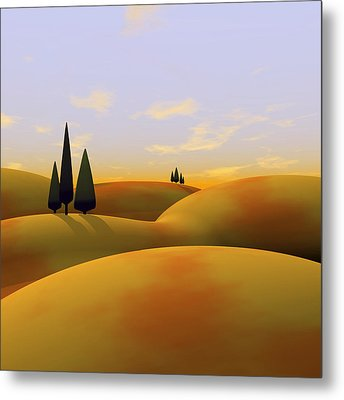 Toscana 3 Metal Print by Cynthia Decker