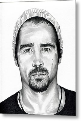Total Recall  Colin Farrell Metal Print by Fred Larucci