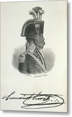 Toussaint Louverture Metal Print by British Library